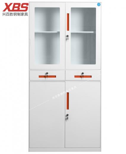 新款中二抽器械文件柜  BS-022,兴百胜文件柜厂家