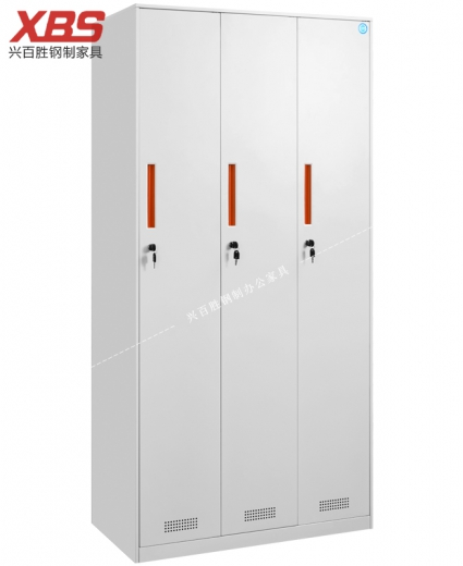钢制更衣柜,新款三门更衣柜 BS-073