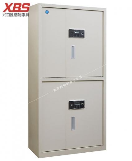 钢制铁皮保密档案柜,新款四门电子保密柜 BS-183