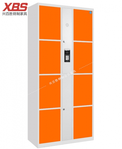 新款 智能扫码储物寄存柜 八门,兴百胜文件柜厂家