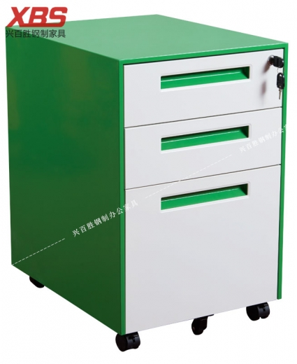 薄边活动柜彩色柜体 BS-094-2,钢制铁皮活动柜