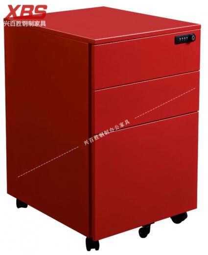 新款无边数字密码活动柜 BS-093,钢制铁皮活动柜