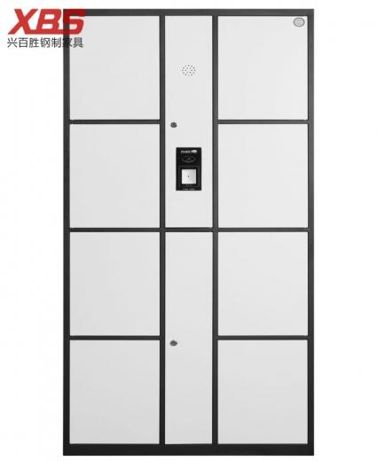 八门条码储物柜存包柜,钢制铁皮储物寄存柜