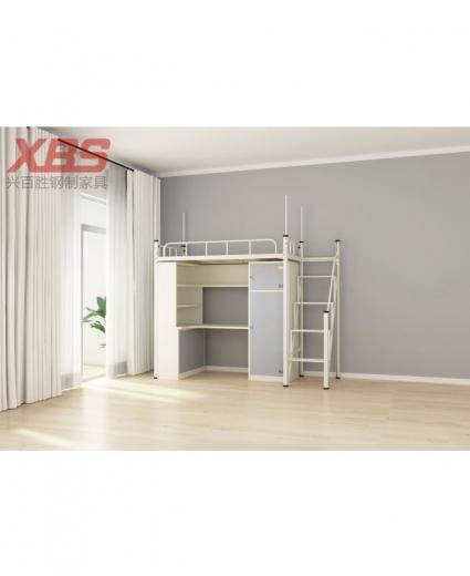 单人位公寓铁床-宿舍床 AB-005