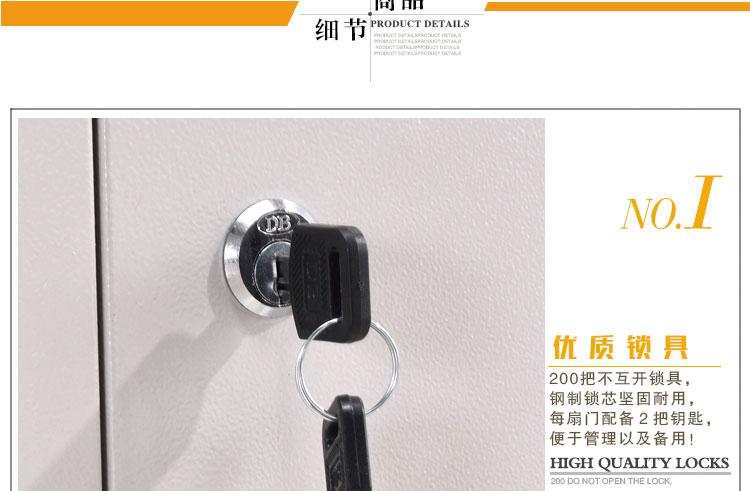 商品细节展示,优质锁具