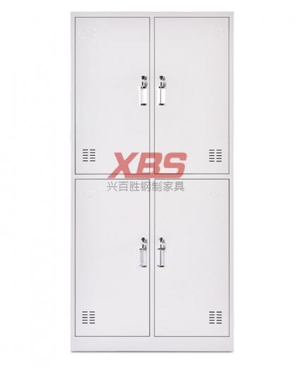 钢制更衣柜,经典单色四门钢制更衣柜