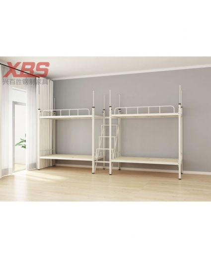 四人位双层床中梯 AB025,宿舍铁床
